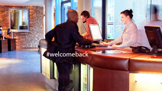 welcome-back-guest-retention-loyalty-card, Digital Community, Hotel Loyalty Card, innovation, millennials, hashtags generation, guest retention, advice, hotel marketing, expertise, young people,